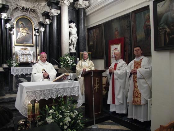 Mszy św. przewodniczył ks. bp Marian Florczyk.